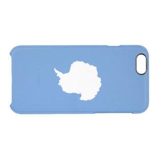 Bandeira de capas de iphone claras da Antártica