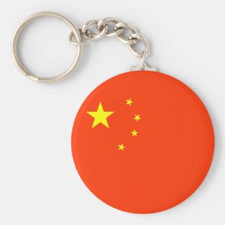 Bandeira de China Chaveiro