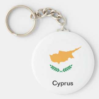 Bandeira de Chipre Chaveiro