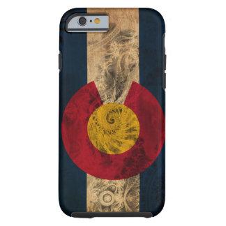 Bandeira de Colorado Capa Tough Para iPhone 6