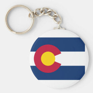 bandeira de Colorado Chaveiro
