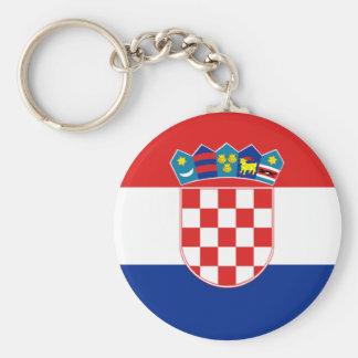 Bandeira de Croatia Chaveiro