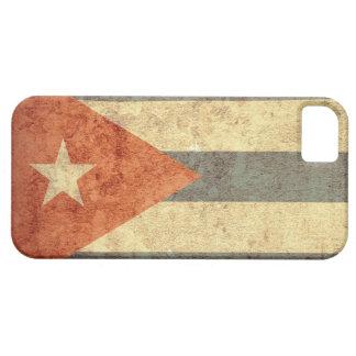 Bandeira de Cuba - Grunge Capa Barely There Para iPhone 5