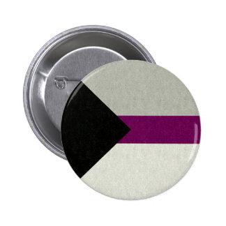 Bandeira de Demisexual Bóton Redondo 5.08cm
