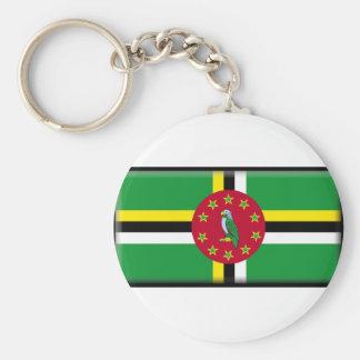 Bandeira de Dominica Chaveiros