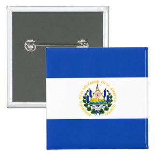 Bandeira de El Salvador, brasão nacional Boton