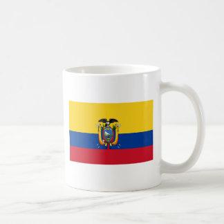 Bandeira de Equador Caneca De Café