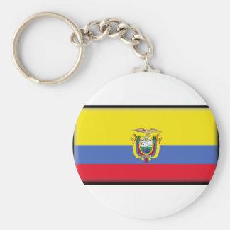 Bandeira de Equador Chaveiro