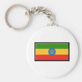 Bandeira de Etiópia Chaveiros