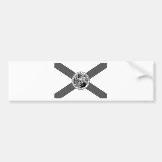 Bandeira de Florida Posterized Adesivo Para Carro