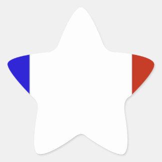 Bandeira de France Adesito Estrela