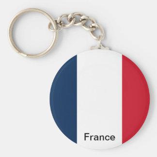 Bandeira de France Chaveiro