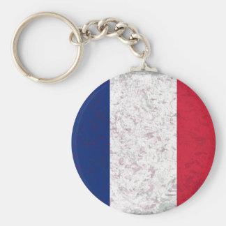 Bandeira de France do la de Pavillon de de France Chaveiros