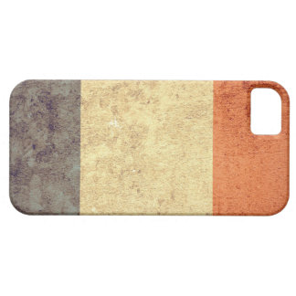 Bandeira de France - Grunge Capa Para iPhone 5