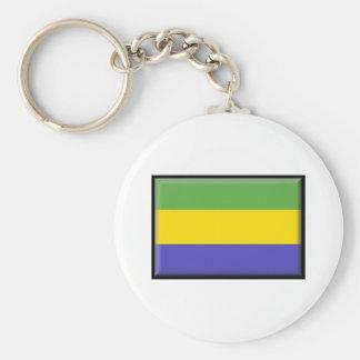 Bandeira de Gabon Chaveiro