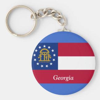 Bandeira de Geórgia Chaveiro