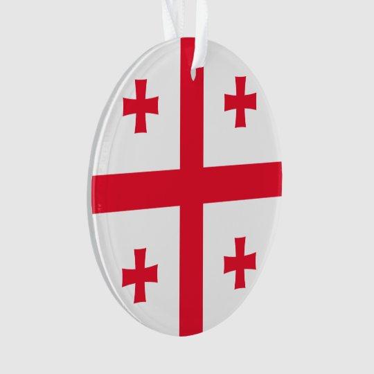 Bandeira de Geórgia Ornamento
