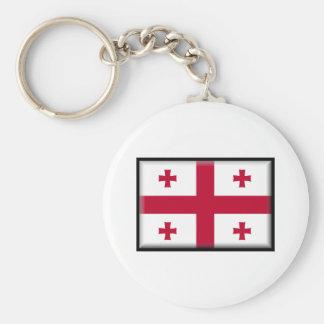 Bandeira de Geórgia Chaveiros