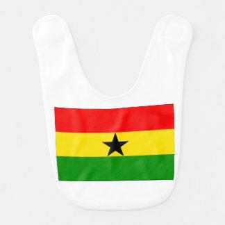 Bandeira de Ghana Babador De Bebe
