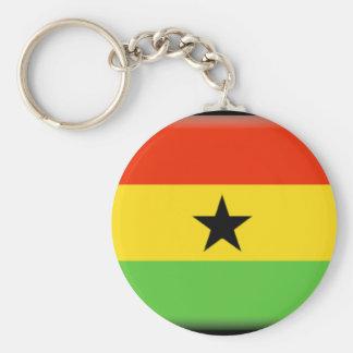 Bandeira de Ghana Chaveiro