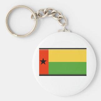 Bandeira de Guiné-Bissau Chaveiro