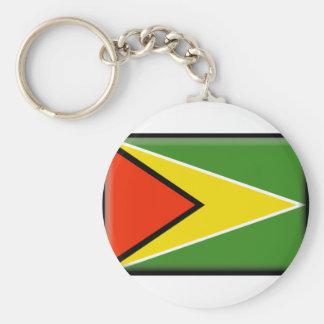 Bandeira de Guyana Chaveiros