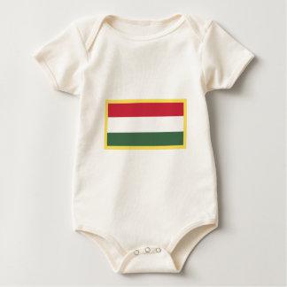 Bandeira de Hungria Macacão