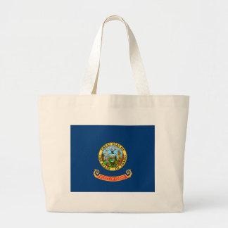 Bandeira de Idaho Bolsa Tote Grande