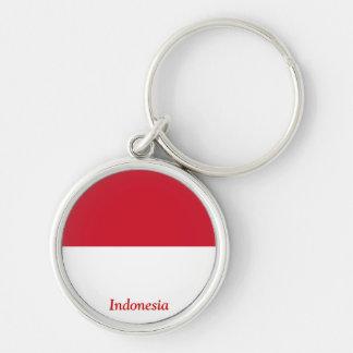 Bandeira de Indonésia Chaveiros
