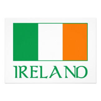 Bandeira de Ireland Convite Personalizados