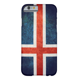 Bandeira de Islândia Capa iPhone 6 Barely There