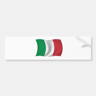 Bandeira de Italia Adesivo Para Carro