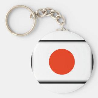 Bandeira de Japão Chaveiros