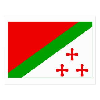 Bandeira de Katanga (1960-1963) Cartão Postal