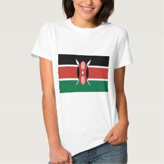 Bandeira de Kenya T-shirt