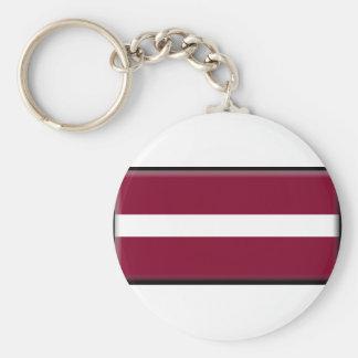 Bandeira de Latvia Chaveiro