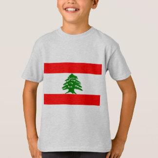 Bandeira de Líbano Camiseta