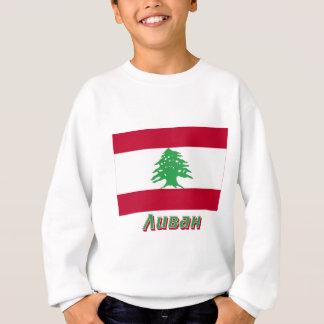 Bandeira de Líbano com nome no russo Agasalho
