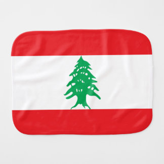 Bandeira de Líbano Fralda De Boca
