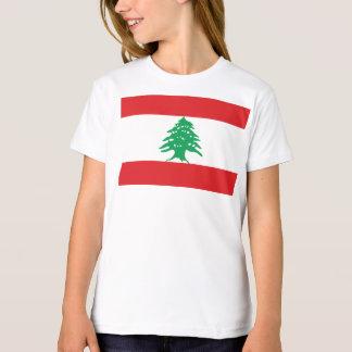 Bandeira de Líbano T-shirt