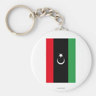 Bandeira de Líbia Chaveiro