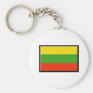 Bandeira de Lithuania Chaveiros