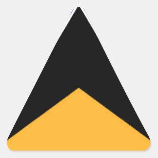 Bandeira de Lucia de santo Adesivo Triângulo