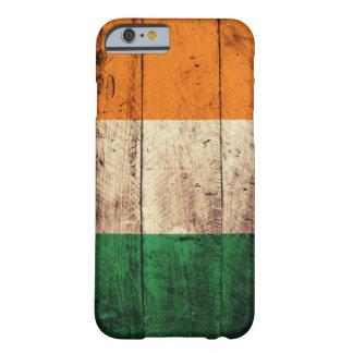 Bandeira de madeira de Ireland Capa Barely There Para iPhone 6