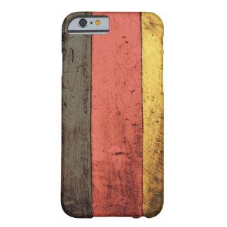 Bandeira de madeira velha de Alemanha Capa Barely There Para iPhone 6