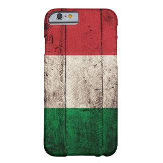 Bandeira de madeira velha de Italia Capa iPhone 6 Barely There