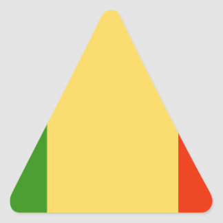 Bandeira de Mali Adesivos Triângulo