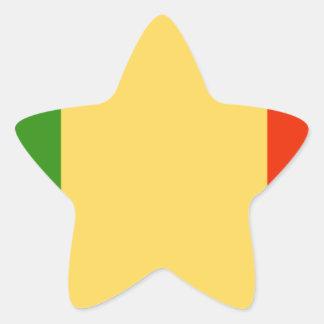 Bandeira de Mali Adesivos Estrelas