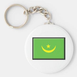 Bandeira de Mauritânia Chaveiro