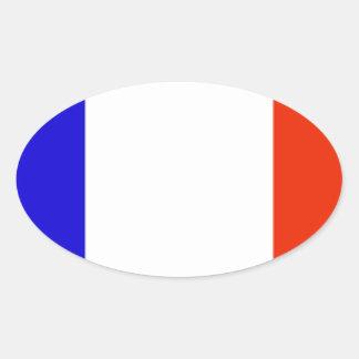 Bandeira de Mayotte (France) Adesivos Oval